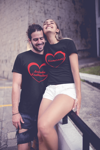 Kanmani - Anbodu kadhalan Couple T-Shirt