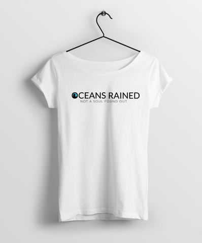 Oceans Rained Official Merchandise Round Neck Women Tshirt - Almytees