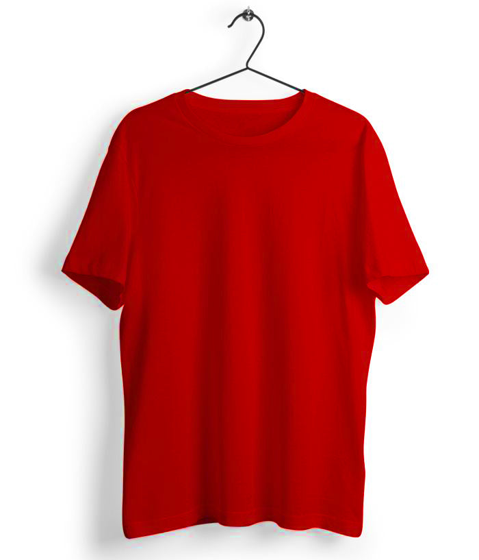 Solid Red T-Shirt - Almytees