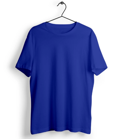 Solid Royal Blue T-Shirt - Almytees