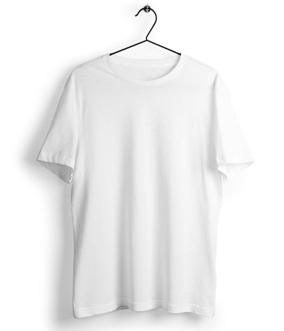 Solid White T-Shirt - Almytees