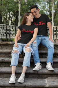 Purushan -Pondatti Couple T-Shirt