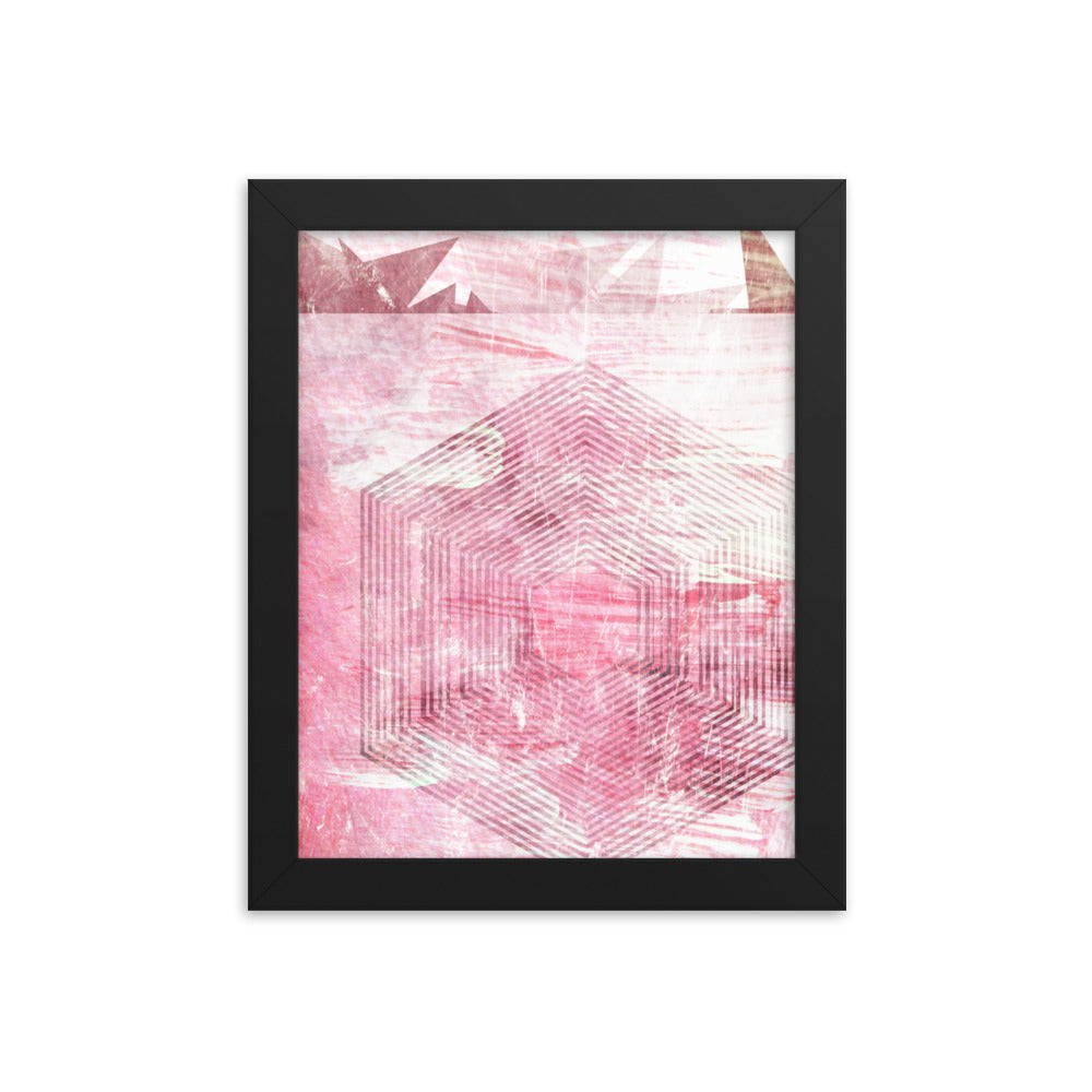 """Emerge"" Framed Print"