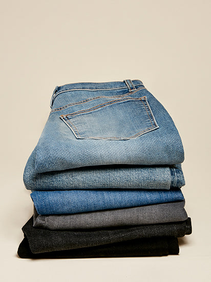 Jeans Fit Guide—Find Your Fit