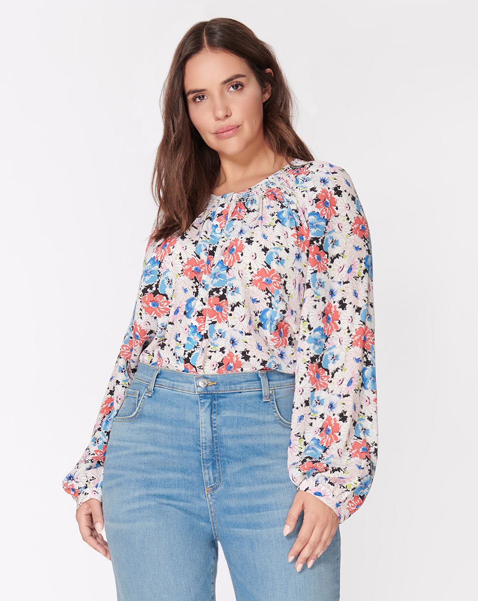 Madge Blouse - Floral-Multi