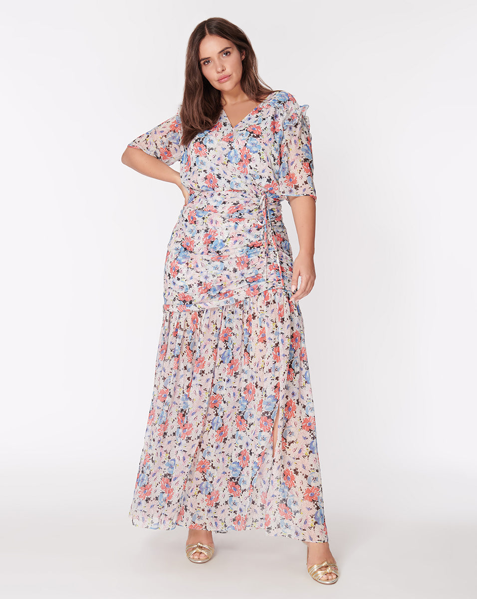 Mick Dress - Floral-Multi