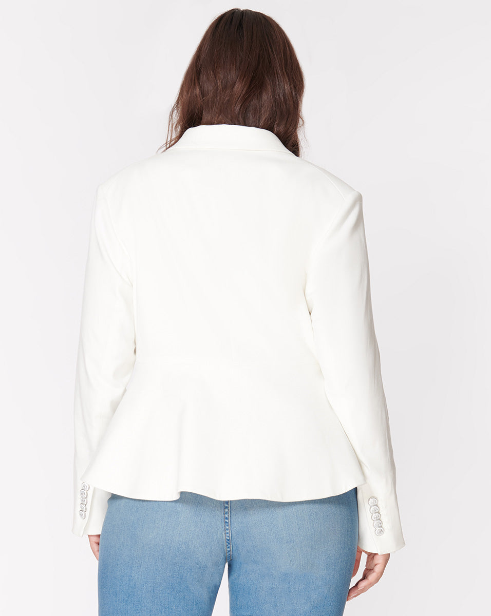 Danielle Dickey Jacket - Off-White