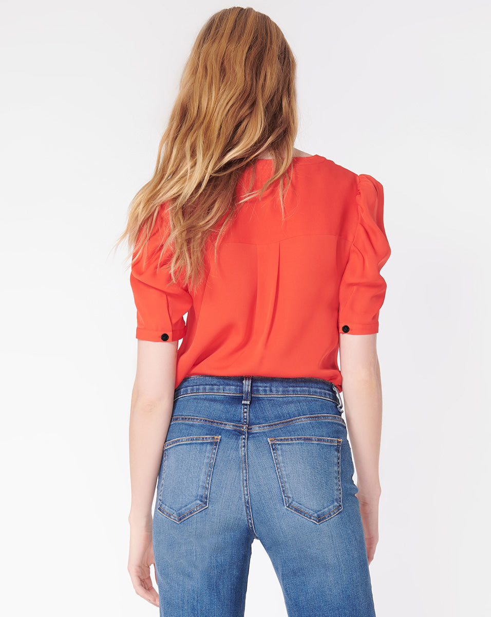 Garland Blouse - Poppy