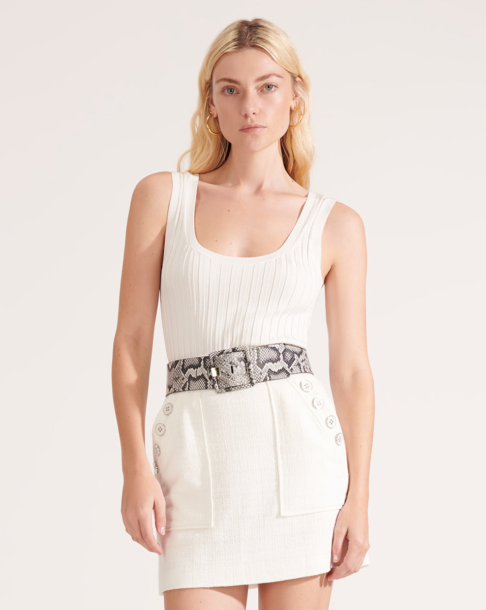 Sandra Tank - Off-White