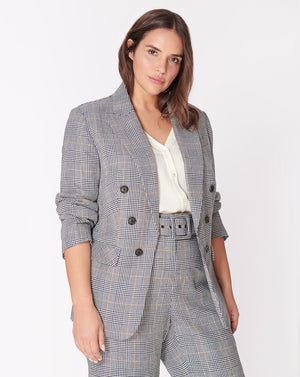 Bexley Dickey Jacket - Navy-Multi