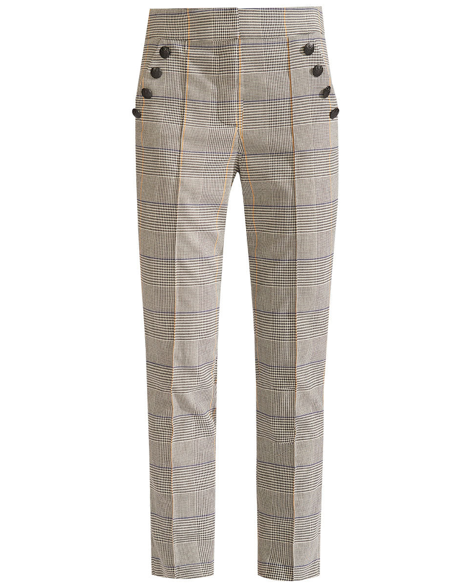 Virgil Trouser - White Multi
