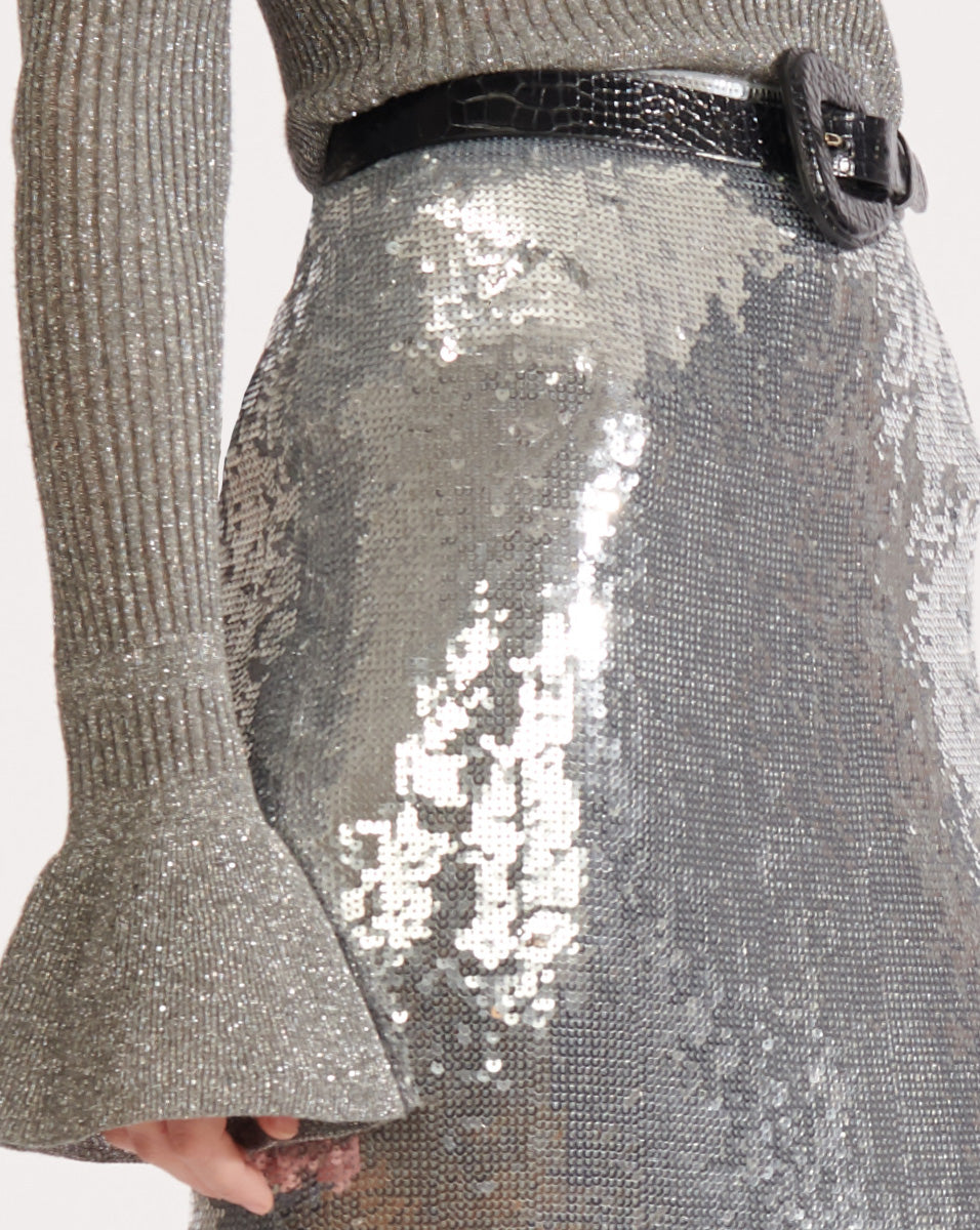 Elliott Skirt - Silver