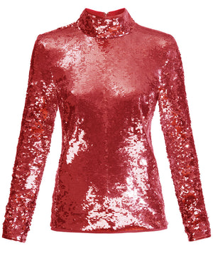 Lucinda Top - Raspberry