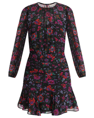 Robin Dress - Black Multi