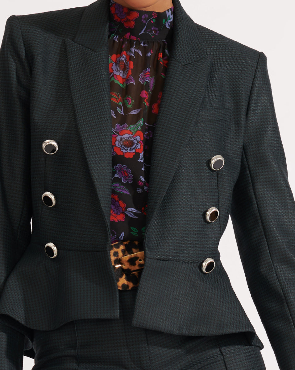 Rhodora Jacket - Green Multi