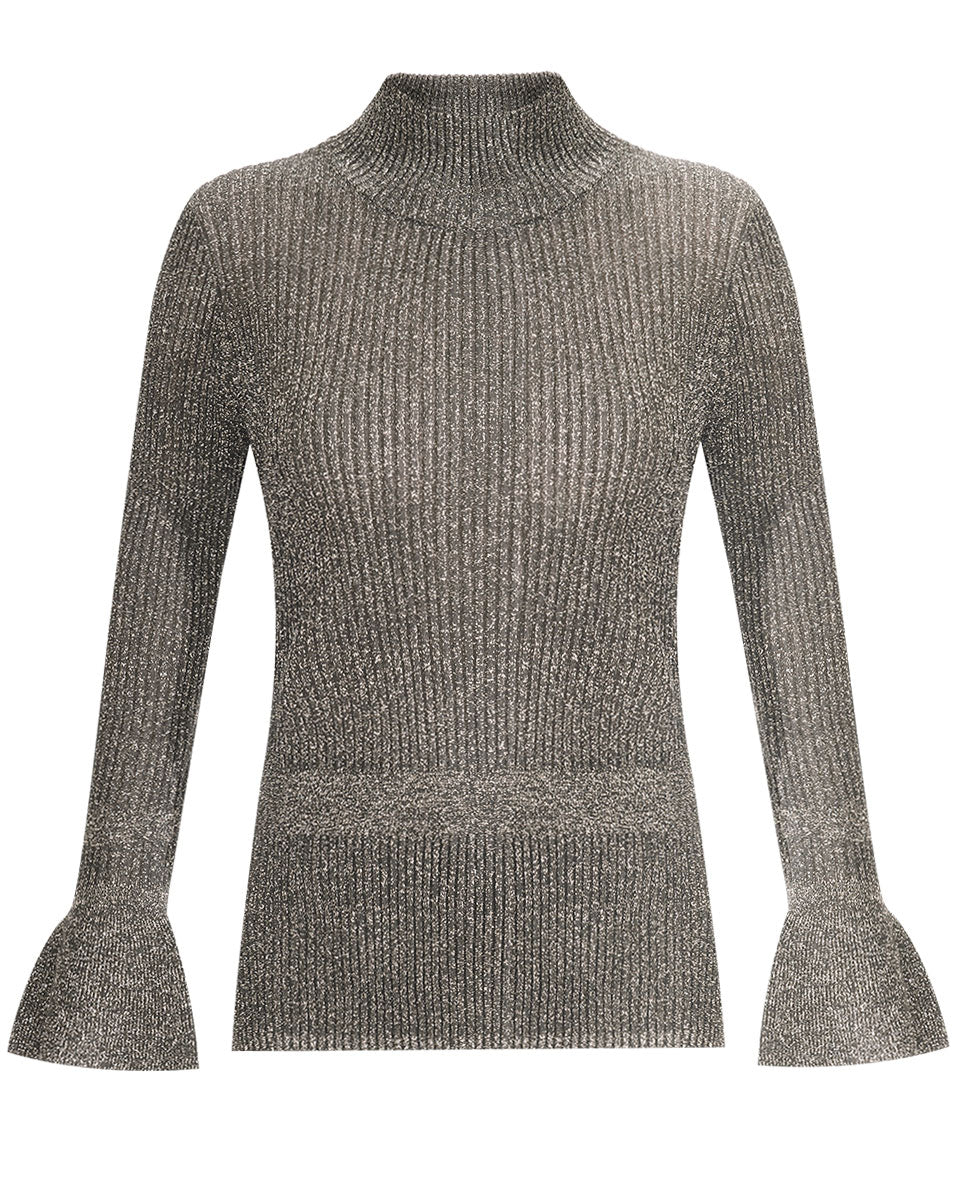 Lilia Turtleneck Pullover - Grey