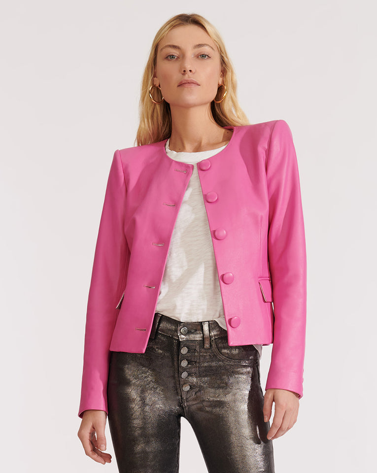 Louisa Dickey Jacket - Pink