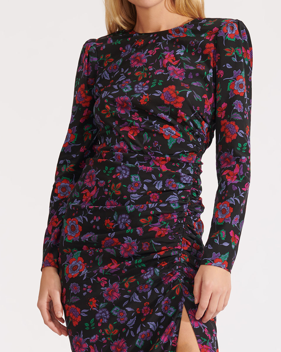 Selena Dress - Black Multi