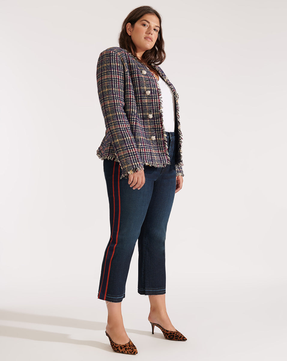 Jerry Dickey Jacket - Navy Multi
