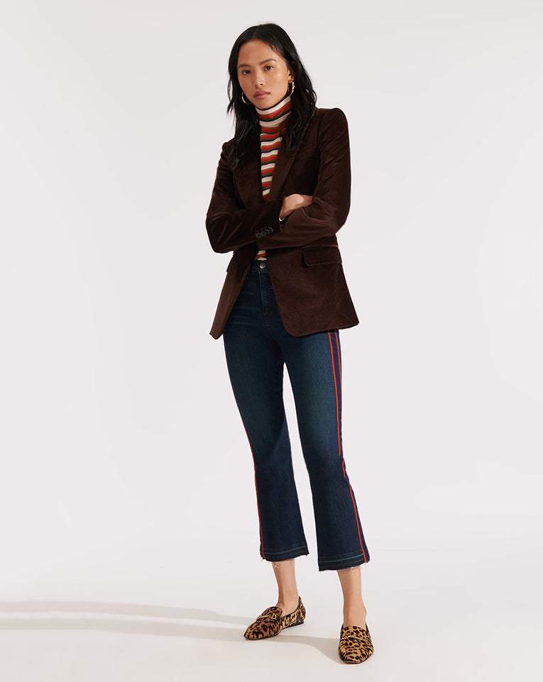 Capucine Dickey Jacket - Brown