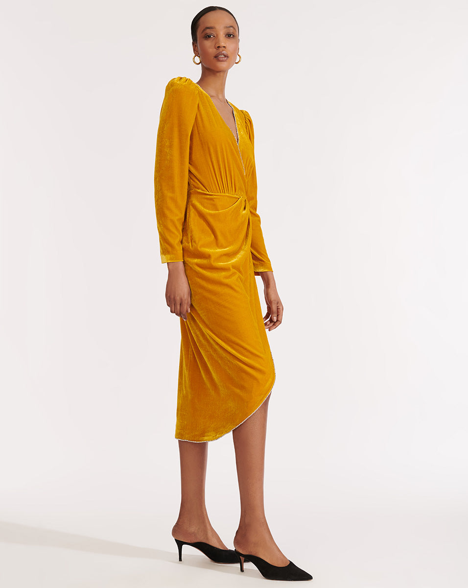 Anthea Dress - Yellow