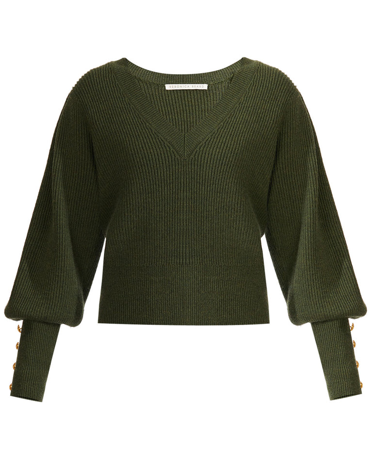 Esme B Sweater - Army