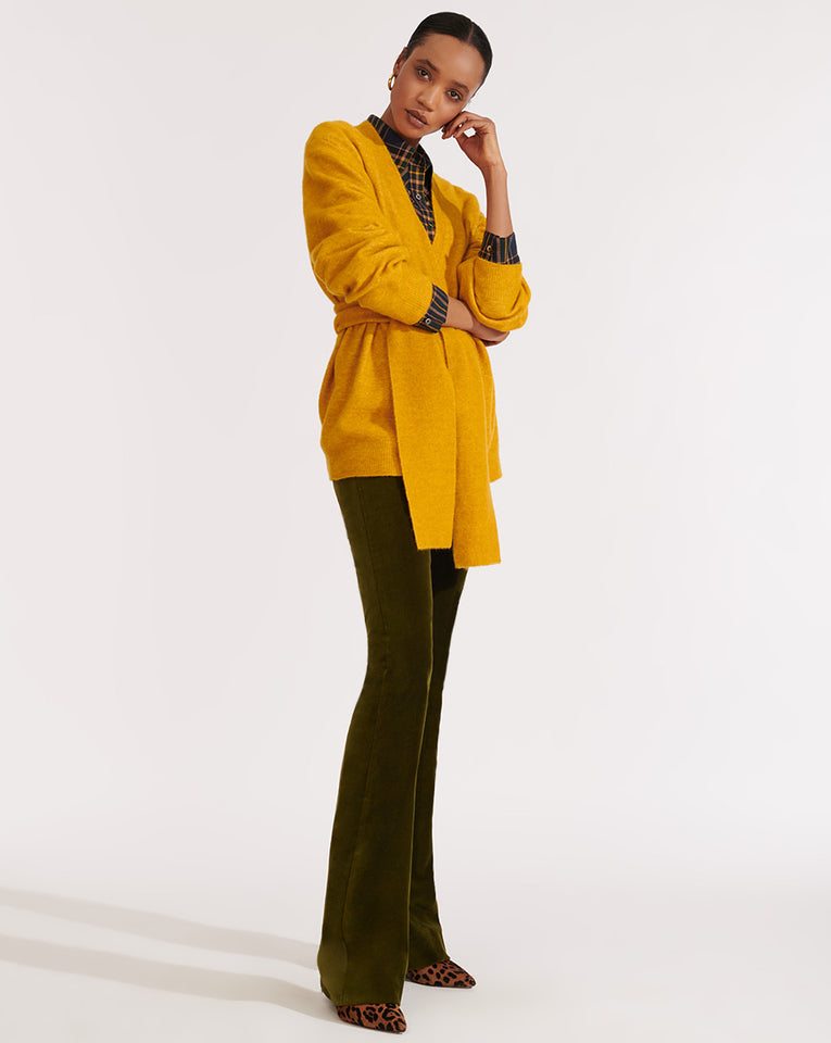 Estella B Cardigan - Yellow