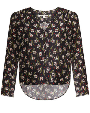 Asheville Blouse - Black Multi