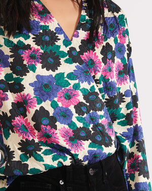 Buzio Top - Pink Multi