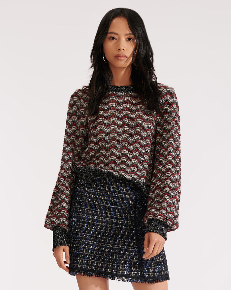 Ruth Crew Neck Sweater - Multi
