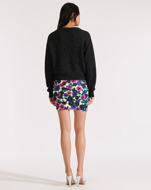 Melinda Crew Neck Sweater - Black