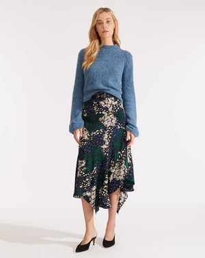 Mac Skirt - Black Multi