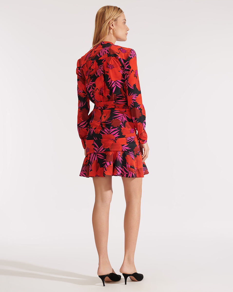 Lorina Dress - Poppy Multi
