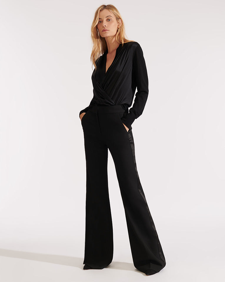 Lebone Pant With Tux - Black