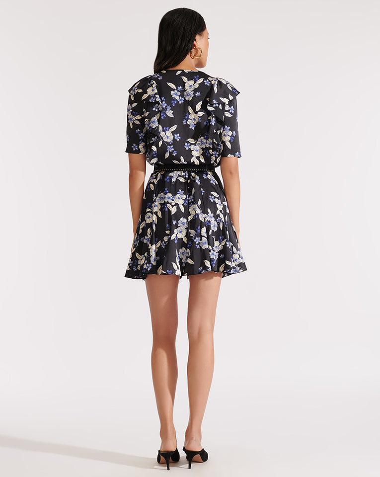 Camillie Dress - Black Multi