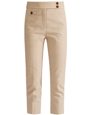 Renzo Pant - White Multi