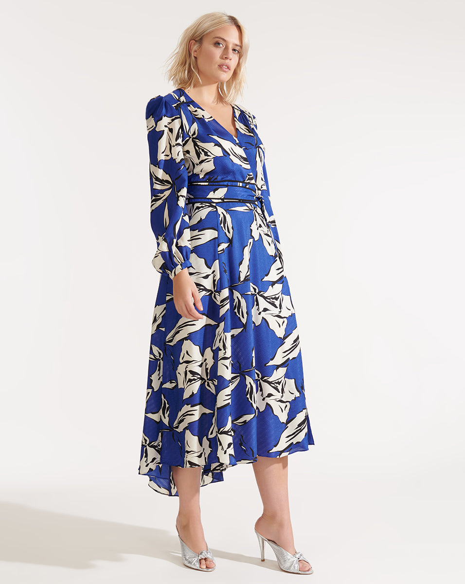 Mclean Dress - Ultramarine Multi