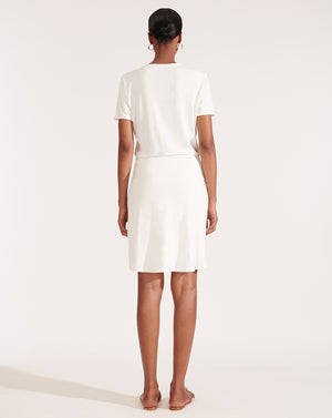 Bernice Dress - White