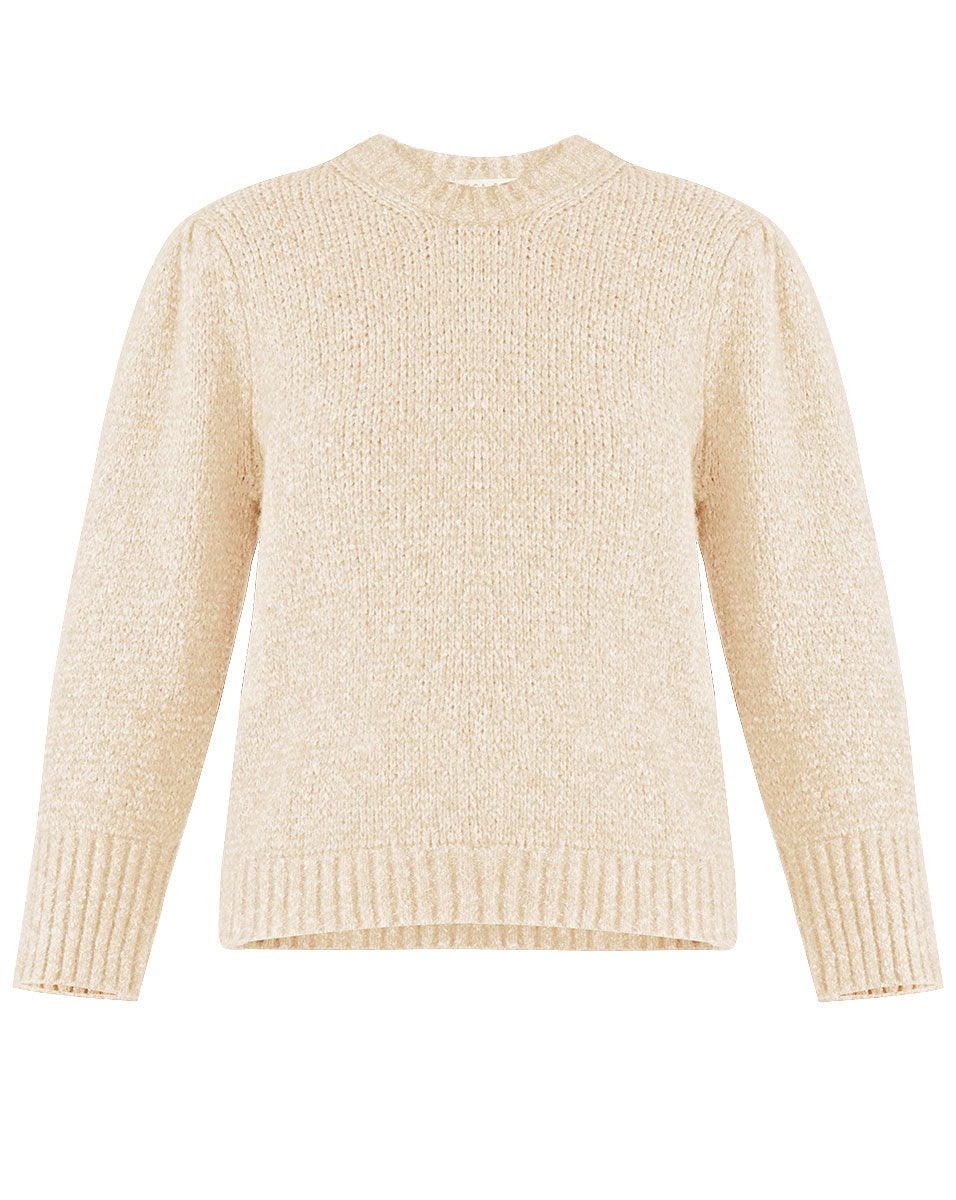 Holly S/s Pullover - Ivory