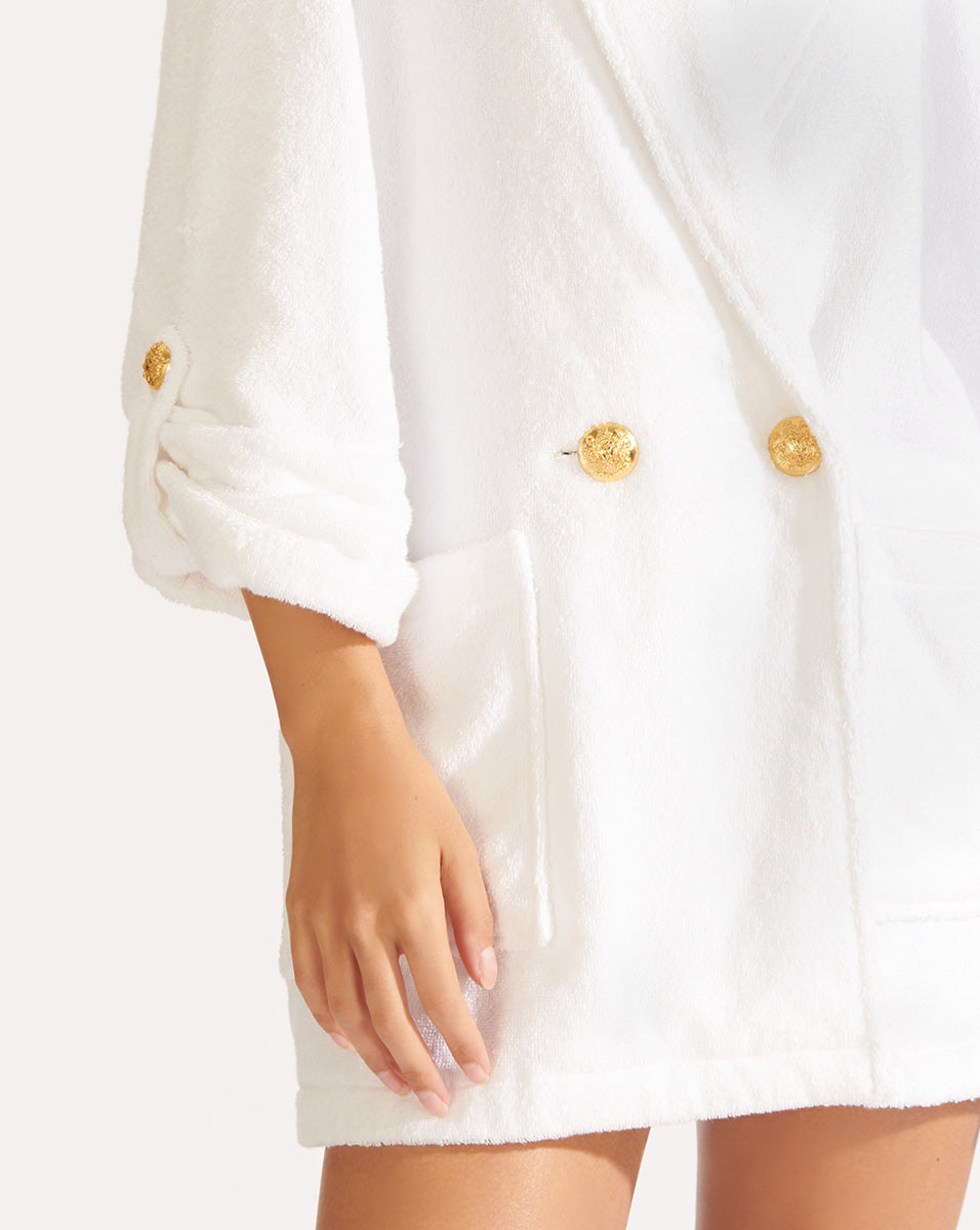 Goldie Jacket - White