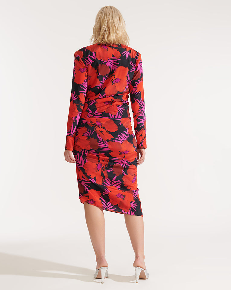 Alvaro Dress - Poppy Multi