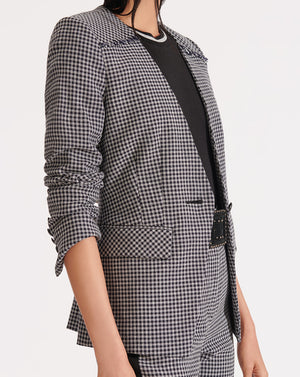 Callum Dickey Blazer - White/black