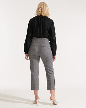 Gemini Pant - White/black