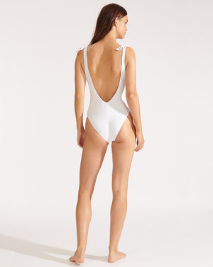 Lanta Swimsuit - White