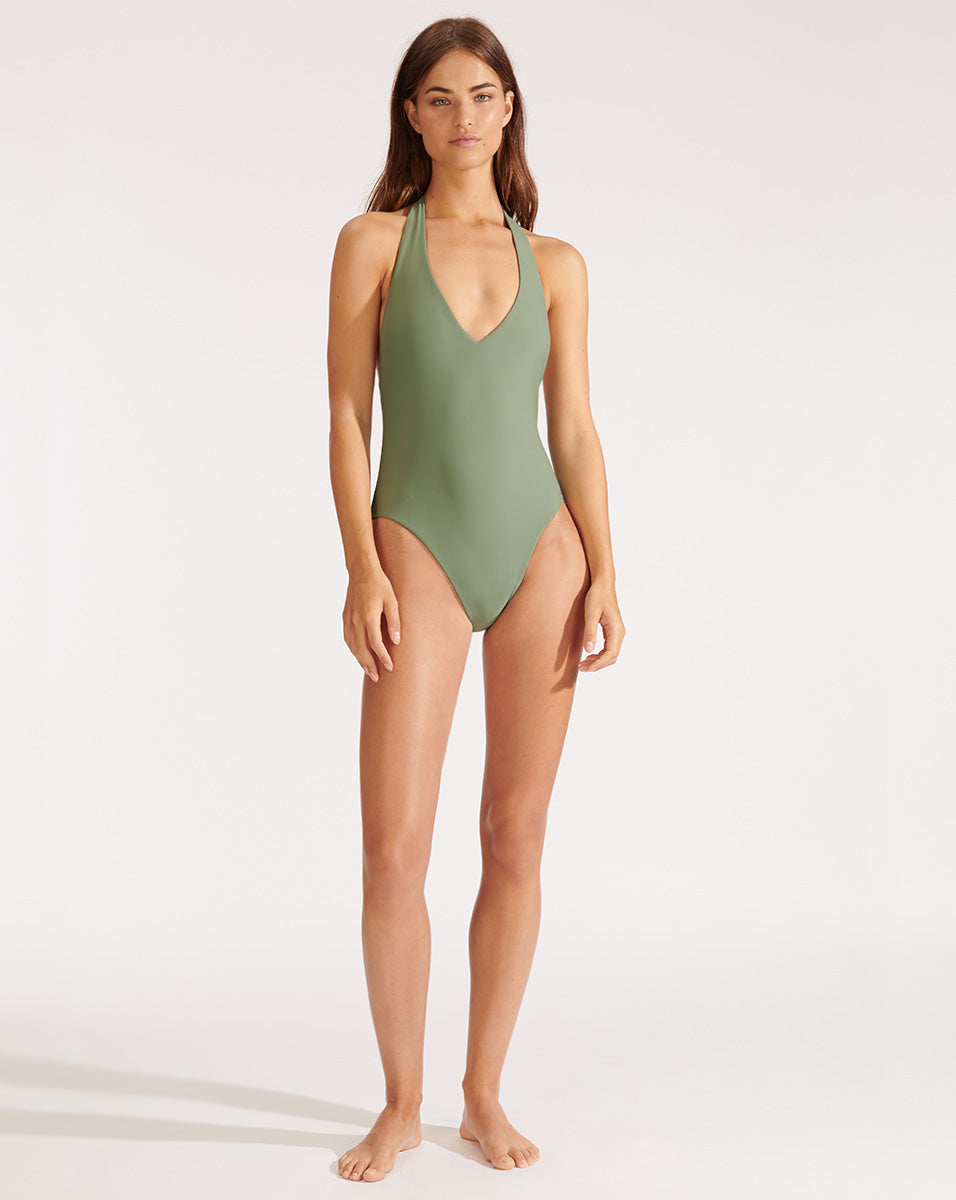 Salis Swimsuit - Army Green