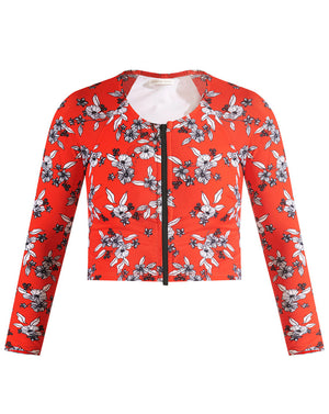 Misali Top - Red Multi