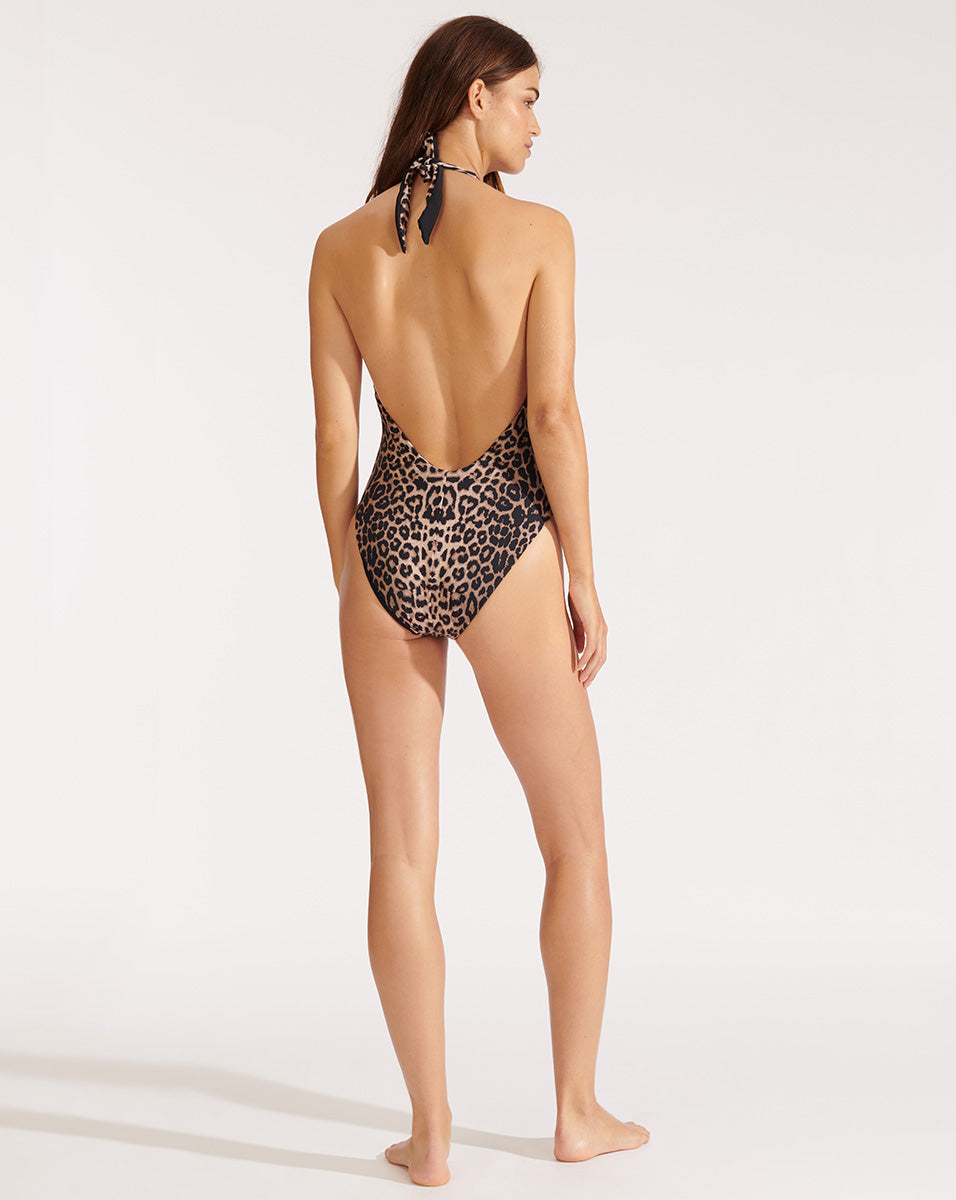 Salis Swimsuit - Leopard