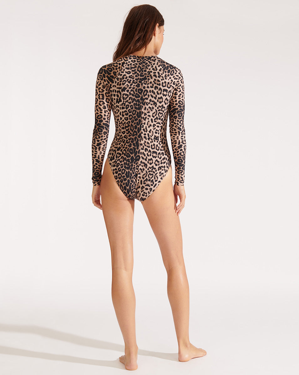 Dune Swimsuit - Leopard