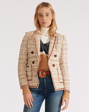 Theron Jacket - Ivory