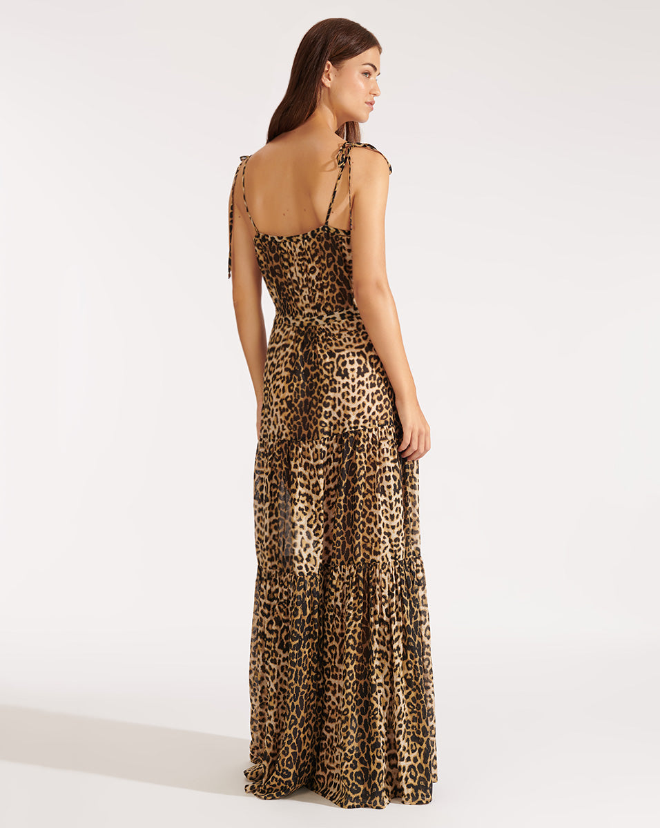 Windansea Dress - Leopard